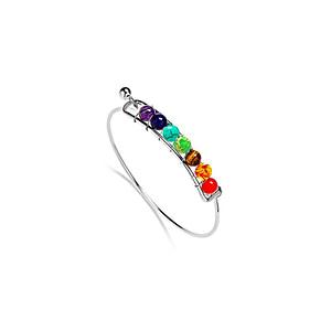 Bracelet Jonc perles chakras