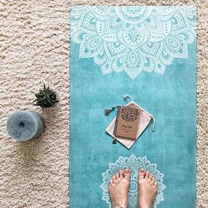Tapis Mandala Turquoise 3,5mm - Yoga Design Lab