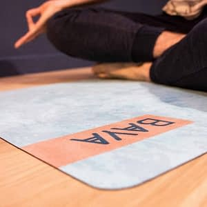 Tapis de Yoga de Voyage Biarritz 1mm - Baya