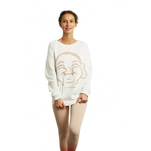 Sweat Dandasana White - Yoga Searcher