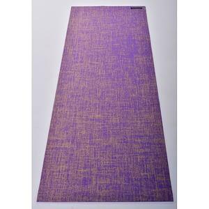 Tapis de Yoga Violet en Jute - Anadeo
